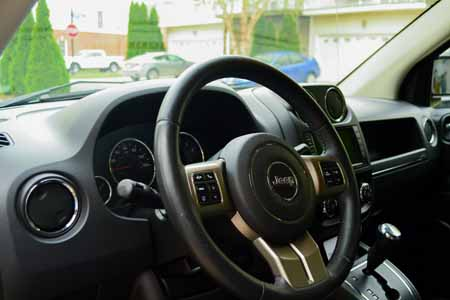 Jeep Compass - Interior Cleaning