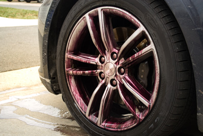 Tesla S60 wheels - exterior car detail
