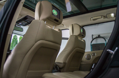 Ranger Rover Clean interior