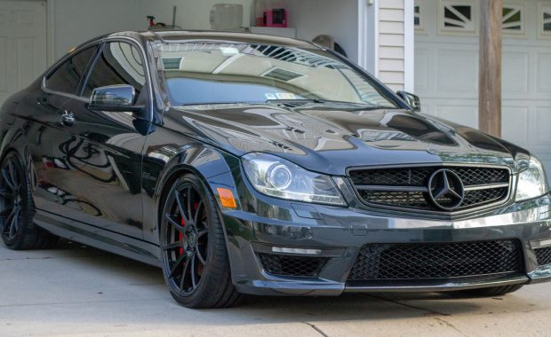 Mercedes C63 AMG detailed by Tabula Rasa